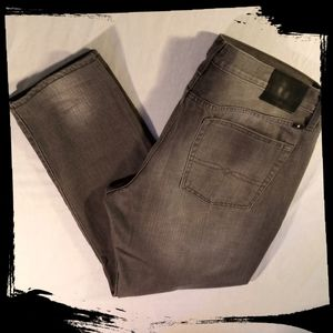 Lucky Brand Jeans 121 Heritage Slim W 38 L 32 Gray
